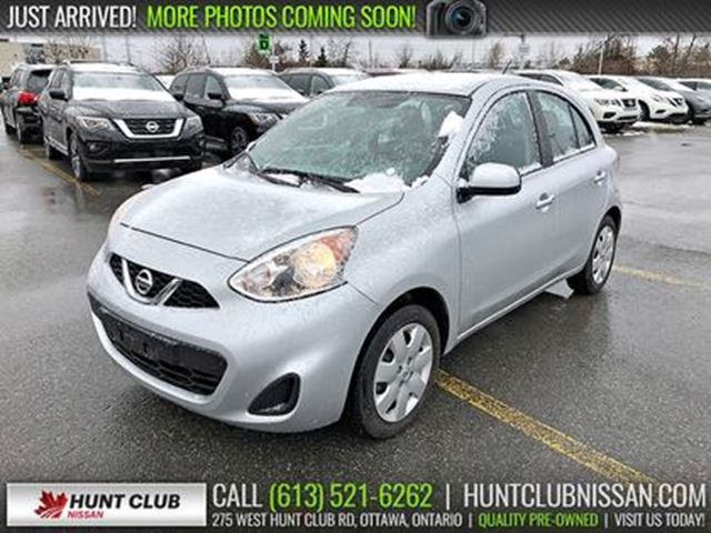 2015 NISSAN Micra SV   Auto, Air Conditioning, Cruise, Bluetooth in Ottawa, Ontario