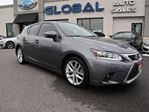2015 Lexus CT 200h HYBRID LEATHER SUNROOF REV. CAMERA. in Ottawa, Ontario