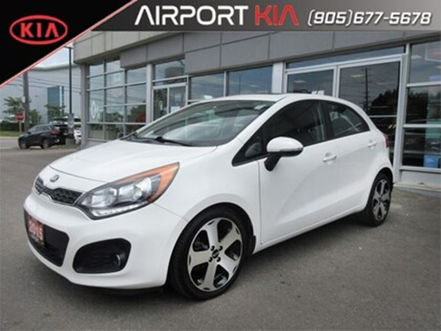 2015 KIA Rio SX w/Navigation/Leather/Camera in Mississauga, Ontario