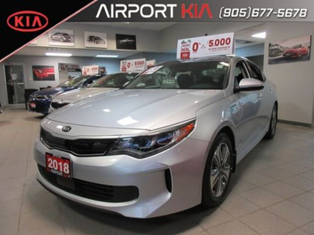 2018 KIA Optima EX Premium/leather/Sunroof /Navigation in Mississauga, Ontario