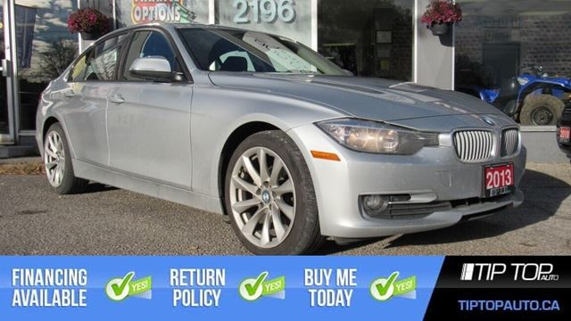 2013 BMW 3 Series 320i xDrive ** AWD, Leather, Sunroof, Low Km ** in