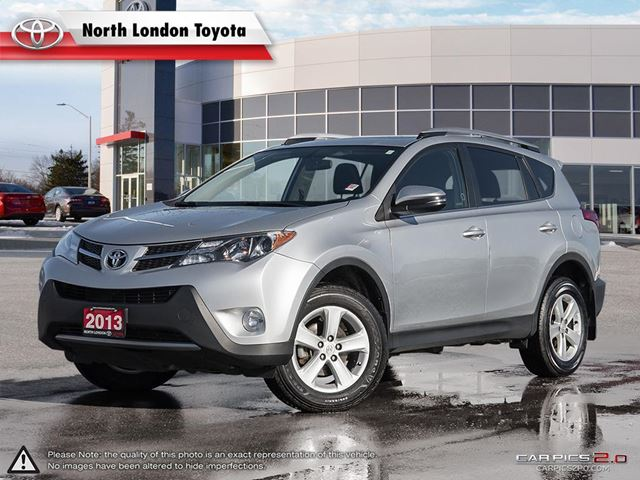 2013 TOYOTA RAV4 XLE Great on fuel, and Toyota's well known reliability  in London, Ontario