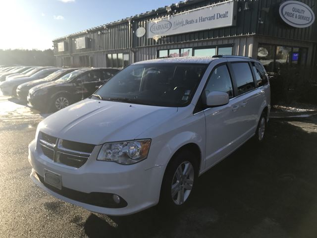 2018 Dodge Grand Caravan Crew HEATED FRONT SEATS/KEYLESS/ALLOYS/BACK UP CAMERA/STOW N GO/ in