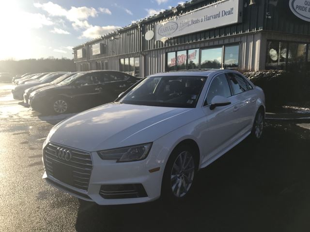 2018 Audi A4 2.0T Komfort AWD/LOADED/ALLOYS/KEYLESS/SUNROOF/LEATHER/BLUETOOTH in