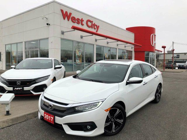 2017 HONDA Civic TOURING,EXTENDED WARRANTY,OFF LEASE! in Belleville, Ontario