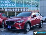 2018 Mazda CX-3 GS,LUXURY,AWD,NAVIGATION,LEATHER,ROOF,NO ACCIDENT in Toronto, Ontario