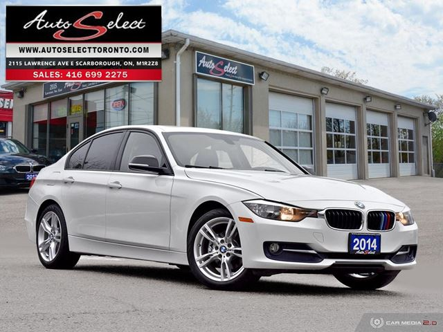 2014 BMW 3 Series xDrive AWD ONLY 55K! **SPORT PKG** NOT A MIS-PRINT! in Scarborough, Ontario