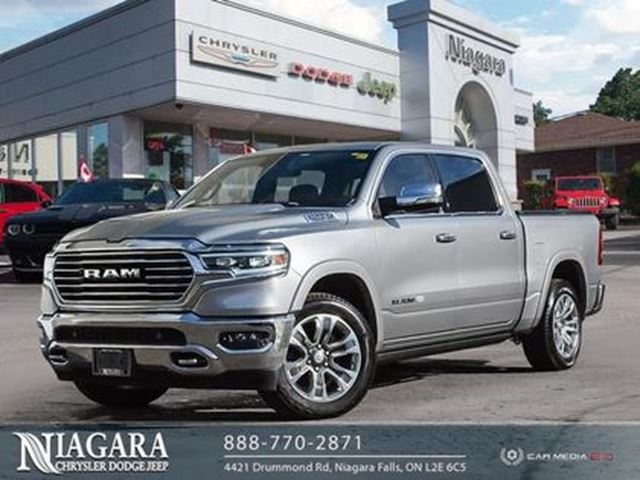 2019 DODGE RAM 1500 LARAMIE LONGHORN   CREW   4X4   TOP-OF-THE-LINE! in Niagara Falls, Ontario