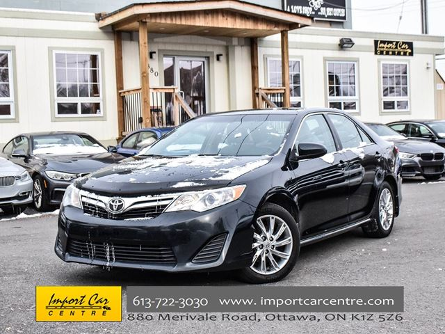 2014 TOYOTA Camry LE ROOF 17ALLOYS BK.CAMERA WOW!! in Ottawa, Ontario