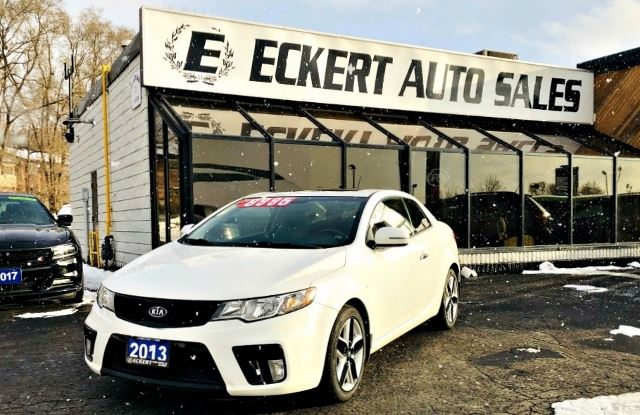 2013 KIA Forte Koup SX WITH LEATHER / NAV / SUNROOF in Barrie, Ontario