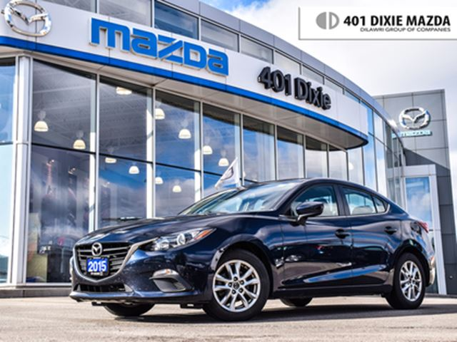 2015 MAZDA MAZDA3 GS, NO ACCIDENTS, 1.9% FINANCE AVAILABLE in Mississauga, Ontario