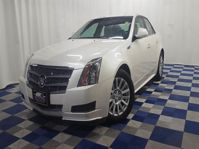 2010 CADILLAC CTS 3.0L/PANO ROOF/HEATED SEATS/ LOW KMS in Winnipeg, Manitoba