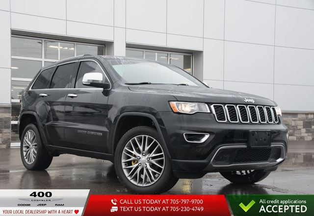 2017 JEEP Grand Cherokee | Limited | LEATHER | NAVIGATION | in Innisfil, Ontario