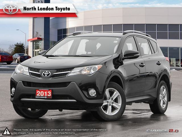 2013 TOYOTA RAV4 XLE AWD family SUV with great safety ratings and spacious interior - TCC.com in London, Ontario