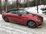 2018 Mercedes-Benz C-Class AMG C 43 4MATIC CONVERTIBLE in Mississauga, Ontario