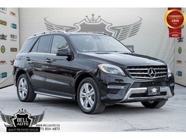 2014 MERCEDES-BENZ M-Class ML 350 BlueTEC, BACK-UP CAM, NAVI, BLUETOOTH, PANO in Toronto, Ontario
