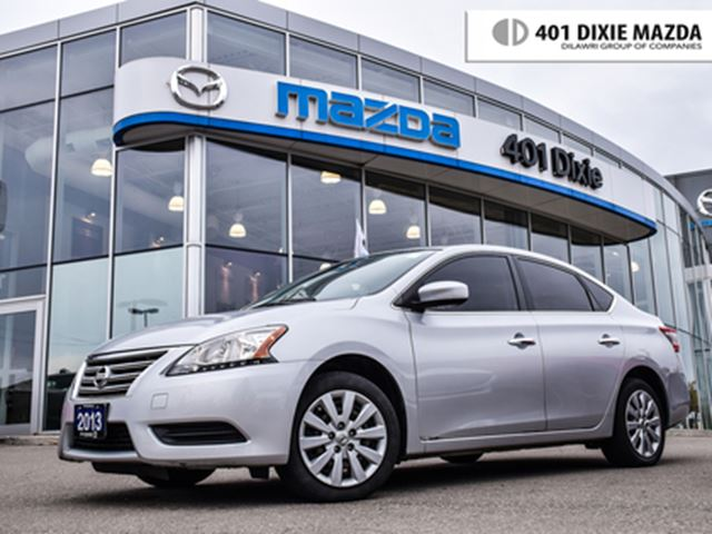 2013 NISSAN Sentra 1.8 S, NO ACCIDENTS, FINANCE AVAIALBLE in Mississauga, Ontario