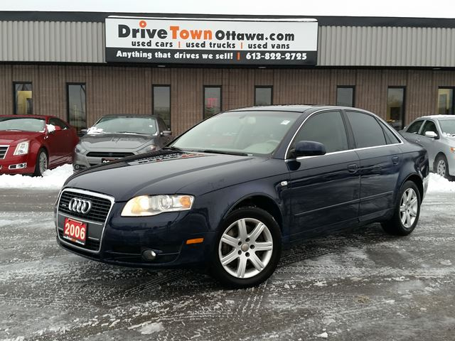 2006 AUDI A4 2.0T QUATRO **NAV/LEATHER/MOONROOF** in Ottawa, Ontario
