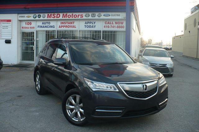 2015 ACURA MDX Elite Pkg NAVI,DVD,ROOF,LEATHER in Toronto, Ontario