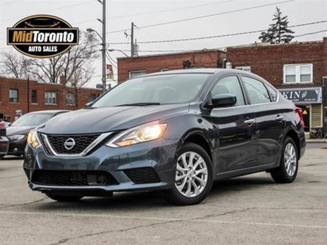 2018 NISSAN Sentra 1.8 SV Low KMS Sunroof Heated Seats in Toronto, Ontario