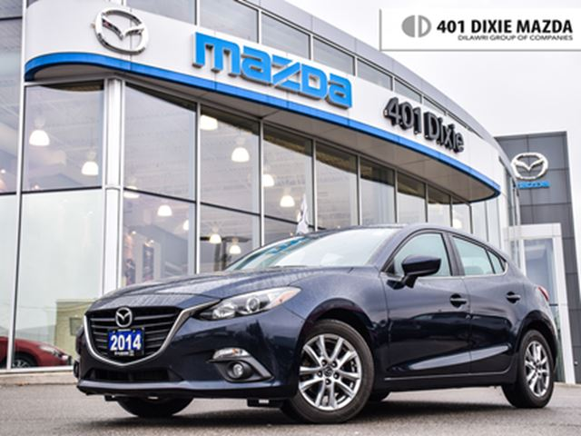 2014 MAZDA MAZDA3 Sport GS-SKY at,1.9%FINANCEAVAILABLE,NO ACCIDENTS,1OWNER in Mississauga, Ontario