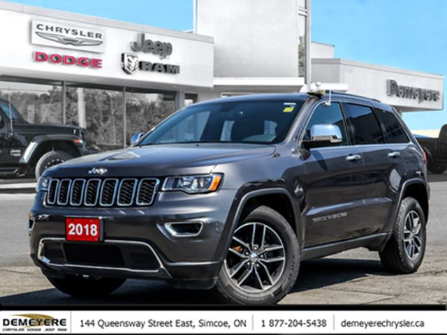 2018 JEEP Grand Cherokee Limited in Simcoe, Ontario