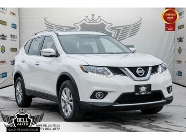 2015 NISSAN Rogue SV ALL WHEEL DRIVE BLUETOOTH PANOROOF BACKUP CAMER in Toronto, Ontario