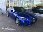 2017 Lexus IS 350 F Sport Edition with low kms in Richmond, British Columbia