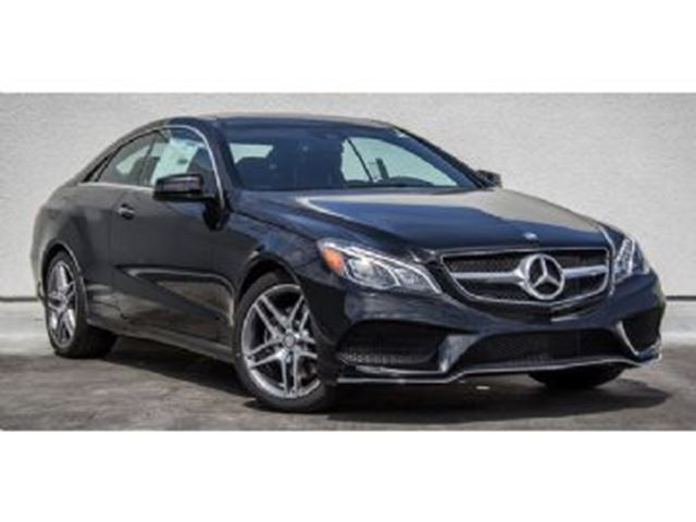 2016 MERCEDES-BENZ E-Class E400 4Matic Coupe AMG Package in Mississauga, Ontario