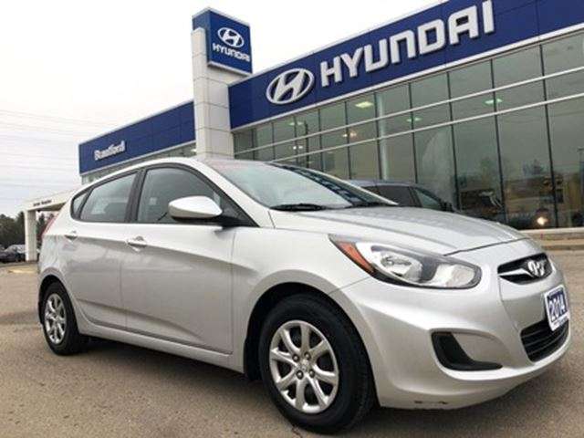 2014 HYUNDAI Accent 1-Owner   LOW KMS   A/C   Manual Transmission - $6 in Brantford, Ontario