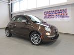 2013 Fiat 500 LOUNGE CONVERTIBLE, HTD. LEATHER, 56K! in Stittsville, Ontario