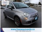 2015 Fiat 500 SPORT, LEATHER, BLUETOOTH, AUTOMATIC in Surrey, British Columbia