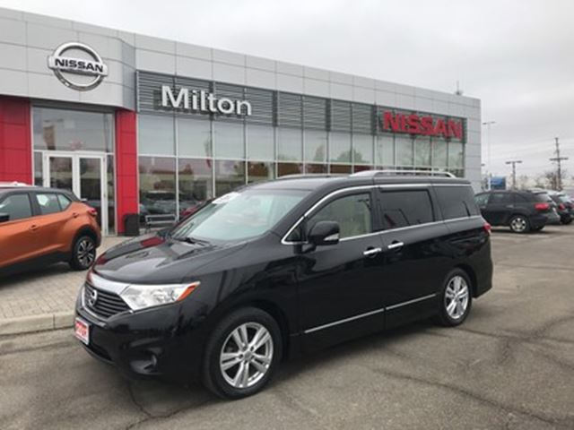 2012 NISSAN Quest SL LEATHER in Milton, Ontario