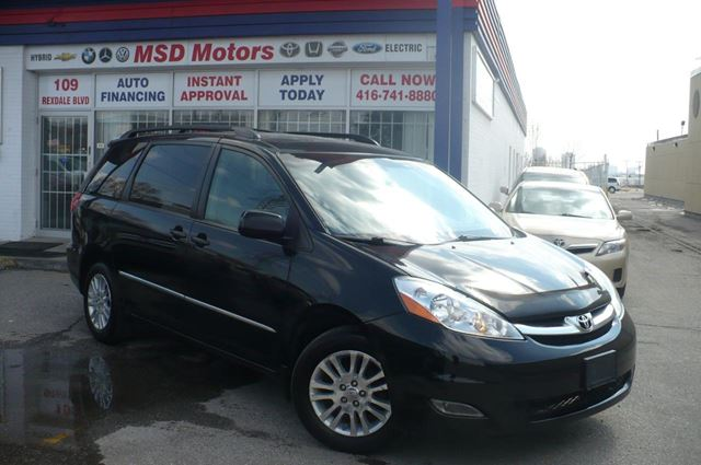 2008 TOYOTA Sienna XLE LTD LEATHER,DVD,AWD in Toronto, Ontario