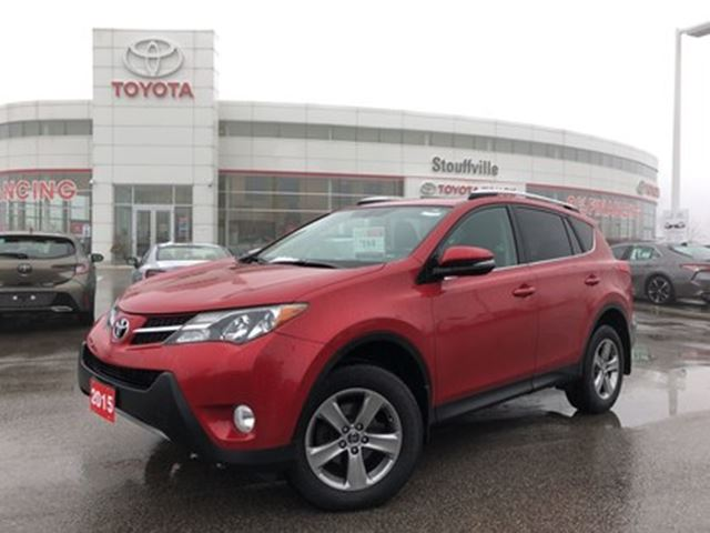 2015 TOYOTA RAV4 XLE FWD - No Accidents / One-Owner / Off-Lease in Stouffville, Ontario