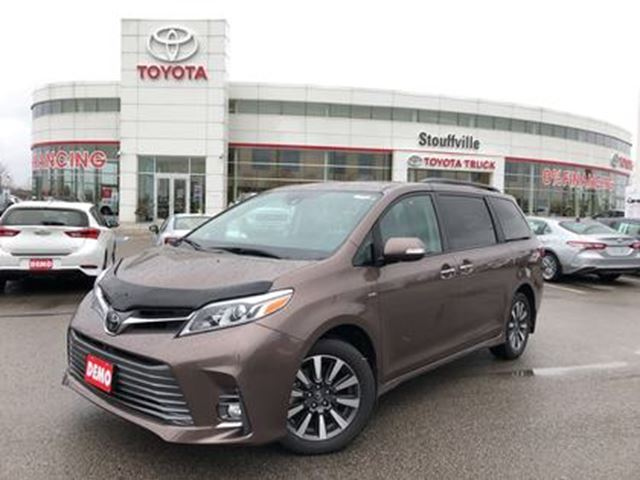 2018 Toyota Sienna Limited AWD 7 Passenger - Toyota Executive Demo! in