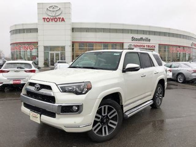2016 TOYOTA 4Runner Limited 5 Passenger - One-Owner / Off-Lease in Stouffville, Ontario