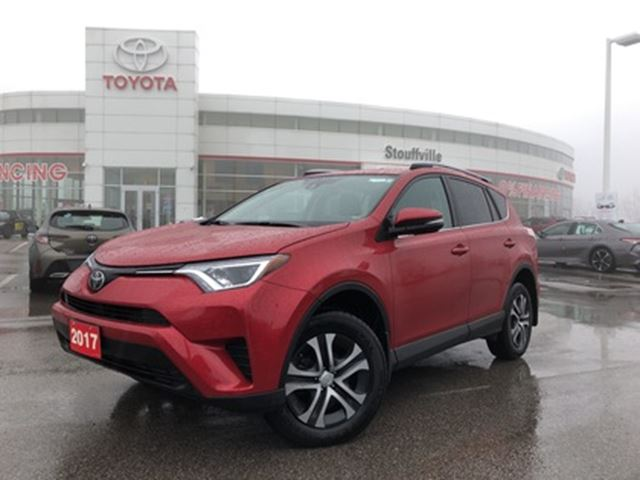 2017 TOYOTA RAV4 LE Upgrade FWD - No-Accidents / One-Owner in Stouffville, Ontario