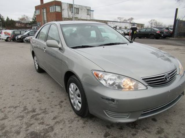 2006 TOYOTA Camry LE - SAFETY INCLUDED  NO ACCIDENTS in Toronto, Ontario