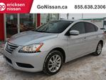 2015 Nissan Sentra SV: AUTOMATIC, HEATED SEATS, ALLOY RIMS, BACK UP CAMERA in Edmonton, Alberta