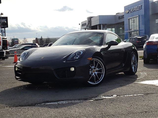 2014 PORSCHE Cayman COUPE, LEATHER, CLIMATE, NO ACCIDENT in Newmarket, Ontario