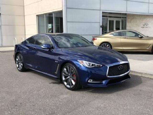 2018 INFINITI Q60 RED SPORT 400 AWD Proactive pack  w/ HUGE CASH INCENTIVE in Mississauga, Ontario
