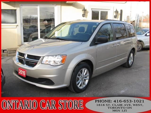 2015 DODGE Grand Caravan SXT TV DVD !!!NO ACCIDENTS!!! in Toronto, Ontario