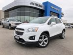 2016 Chevrolet Trax LTZ HEATED SEATS SUNROOF ALLOYS BLUETOOTH in Orillia, Ontario