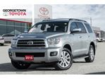 2016 Toyota Sequoia Limited NAVIGATION BACKUP CAM SUNROOF DVD LEATHER in Georgetown, Ontario