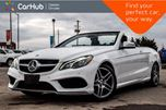 2017 Mercedes-Benz E-Class E 400 Convertible Pwr Top Navi Backup Cam Bluetooth Blind Spot Leather 18AMG Rims in Bolton, Ontario
