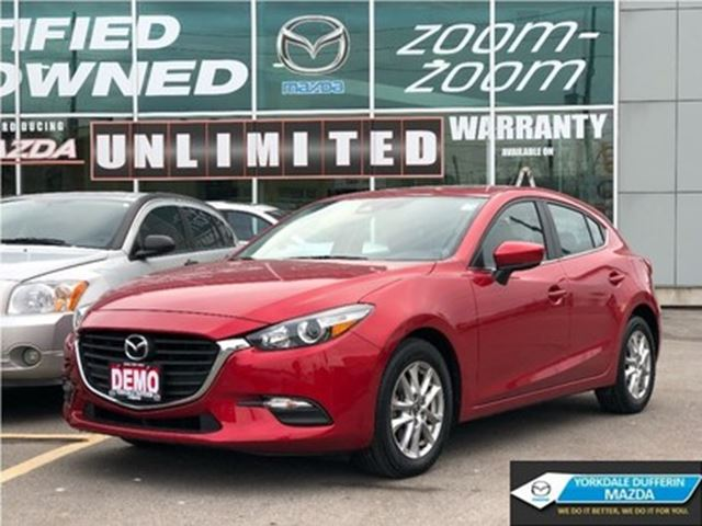 2018 MAZDA MAZDA3 Sport GS/MOONROOF/REMOTE STARTER/NAVIGATION in Toronto, Ontario