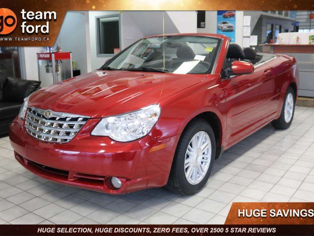 2009 CHRYSLER Sebring TOURING, CONVERTIBLE, 2.7L V6, FWD, PWR WINDOWS/LOCKS, AIR CONDITIONING, AM/FM WITH CD PLAYER, CLTH in Edmonton, Alberta