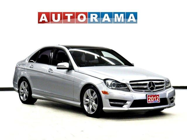 2012 Mercedes-Benz C-Class C300 4MATIC BACK UP CAM NAVI LEATHER PANO-SUNROOF in North York, Ontario