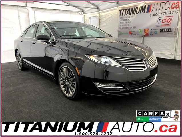 2015 LINCOLN MKZ AWD-Pano Roof-GPS-Camera-Massage Brown Leather Sea in London, Ontario